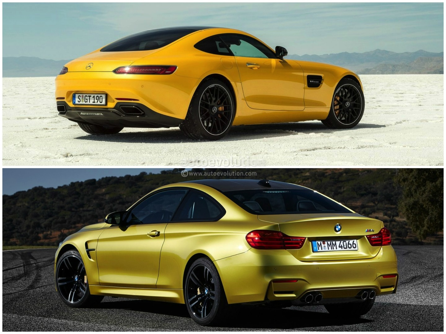 How Does The Bmw M4 Stack Up Against Mercedes Amg Gt Need A Wiring Diagram Mustang Evolution