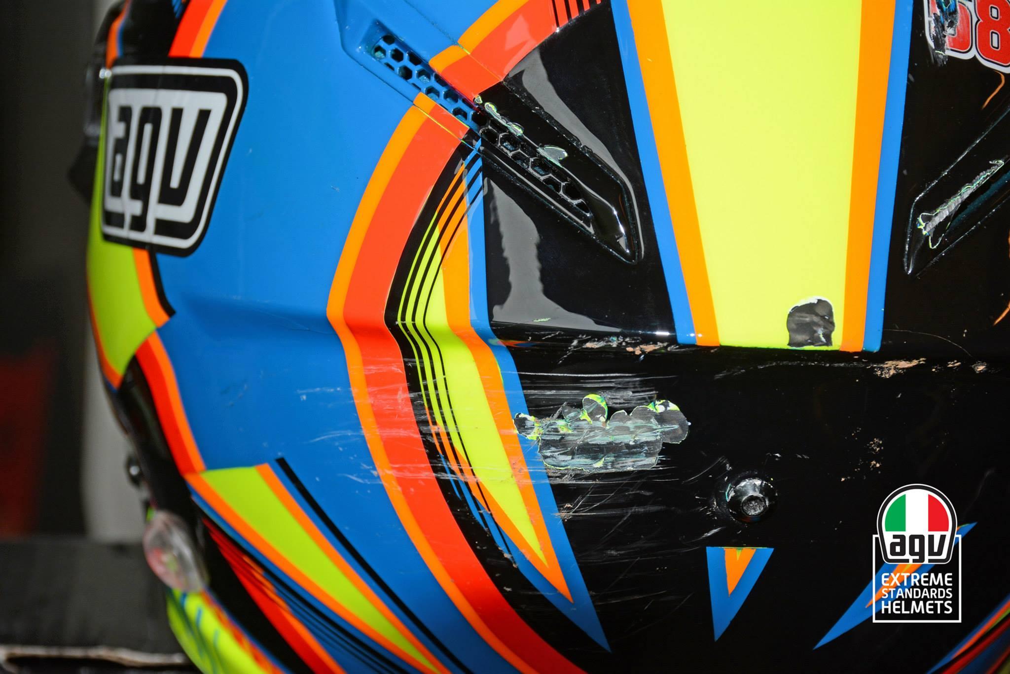 Valentino Rossi Helmet 2015