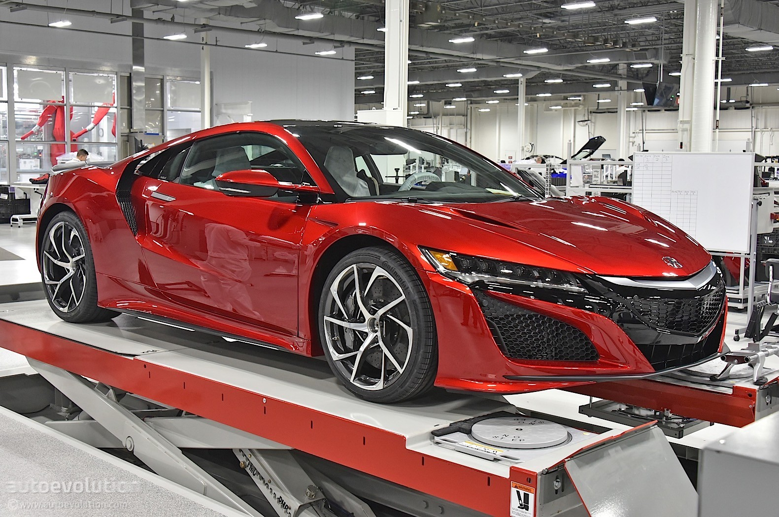 How The 2017 Acura Nsx Is Made Autoevolution