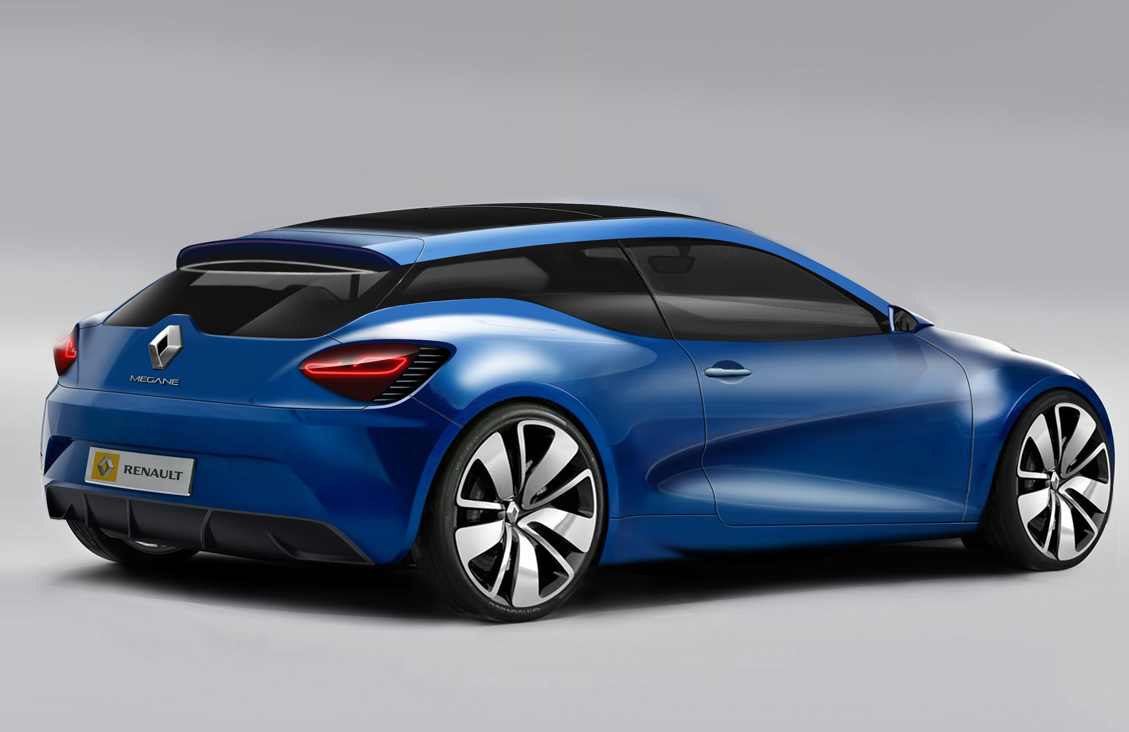 how the next renault megane coup could look autoevolution. Black Bedroom Furniture Sets. Home Design Ideas
