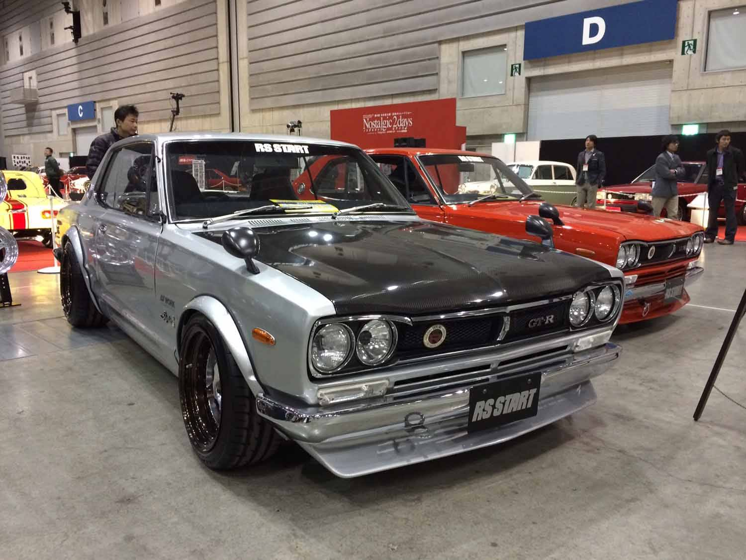 retro cars heaven in japan  nostalgic 2days show