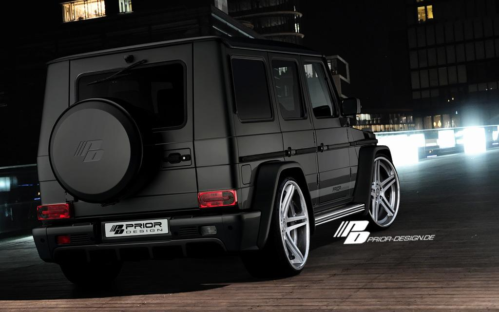 how to make a mercedes g-class useless  by prior design