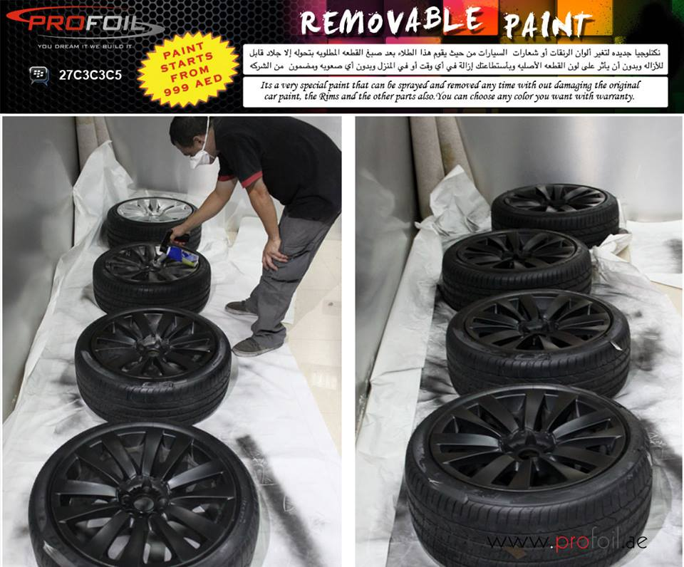 How To Transform Your Bmw S Wheels Using Removable Paint
