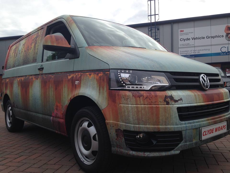 Vehicle Wrap Cost >> ChipsAway Goes the VW Transporter Way - autoevolution