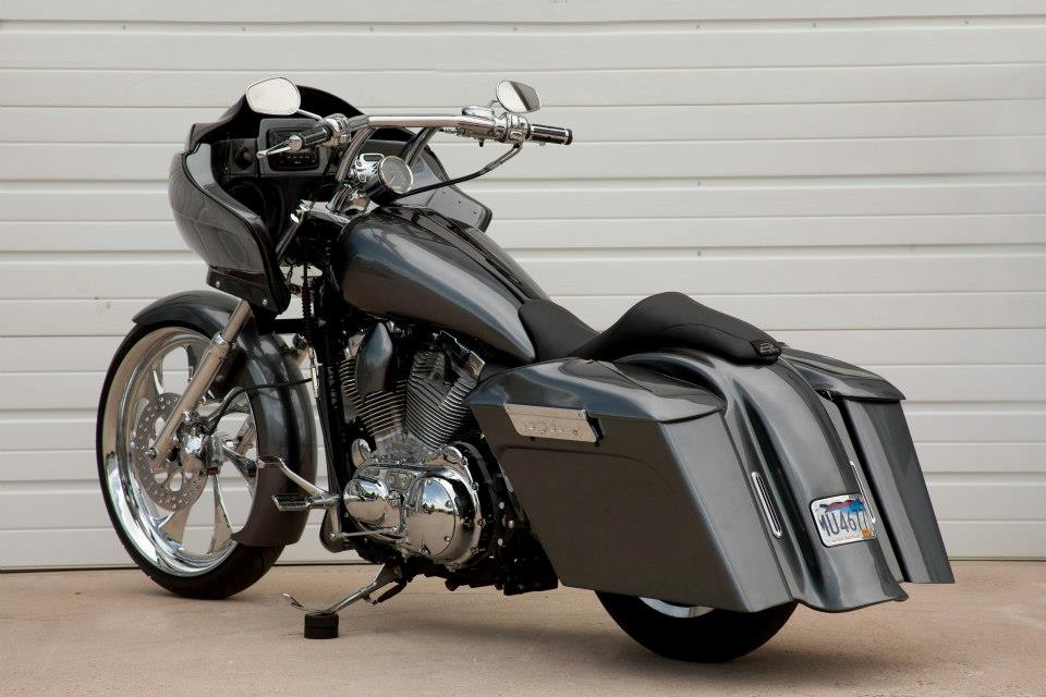 How To Turn Your Sportster Into A Bagger Autoevolution