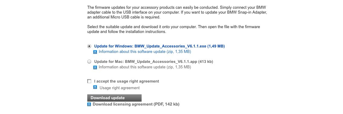 How To Update BMW's Phone Cradle Firmware - A Brief Guide