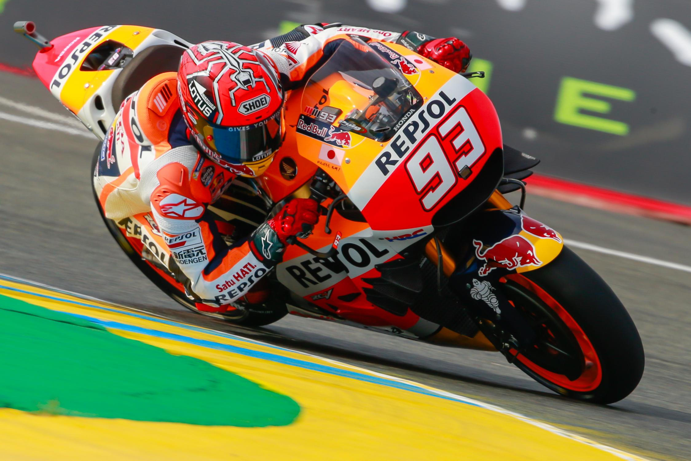 HRC Renews Contract with Marc Marquez through 2018 ...