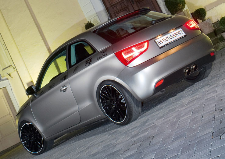 HS Motorsport Audi A1 Released - autoevolution