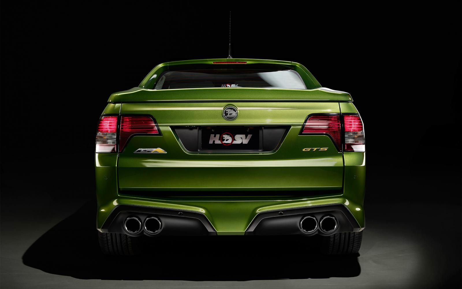HSV GTS Maloo Packs 430 kW of Aussie Grunt [Video] - autoevolution