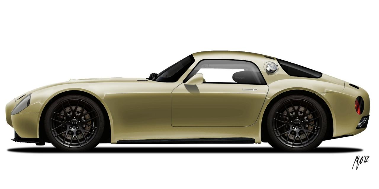 Huet Brothers Building BMW-Powered Retro Coupe