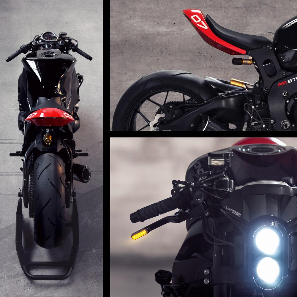 Huge Moto Honda Cbr Black Is The Ultimate Custom Fighter Autoevolution Motorcycle Fuse Box