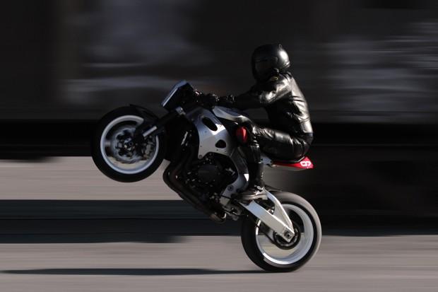 Huge Moto Honda Cbr Black Is The Ultimate Custom Fighter