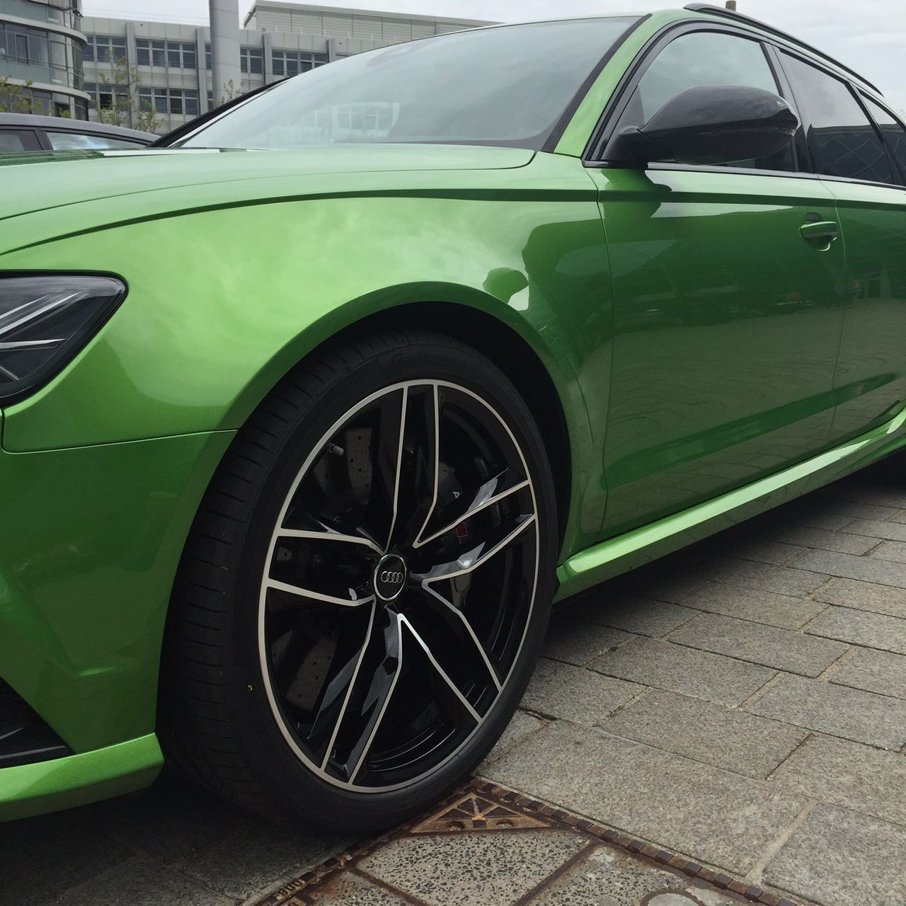 Hulk On Wheels Java Green Audi Rs6 Avant Is Not A Bmw