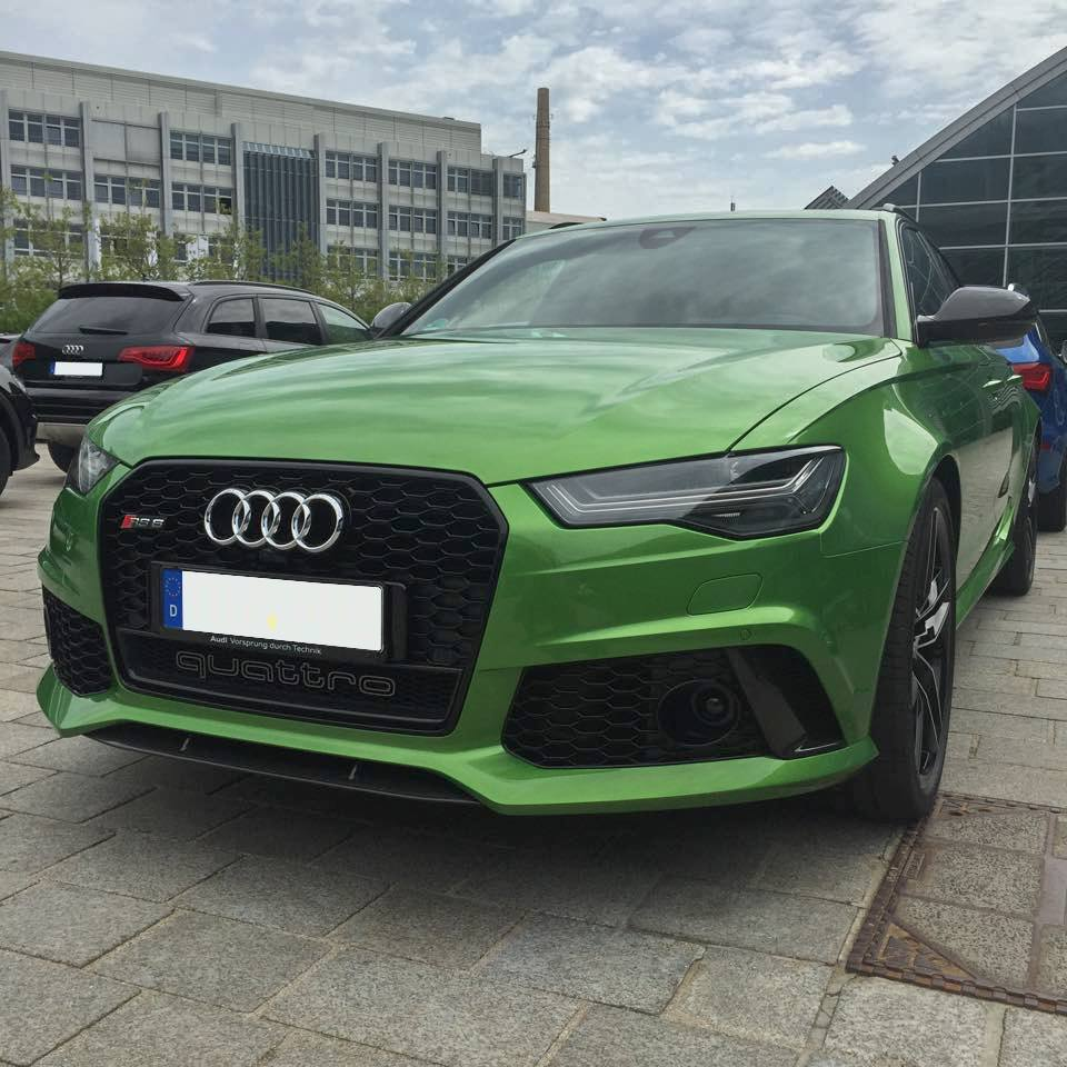 Hulk On Wheels Java Green Audi Rs6 Avant Is Not A Bmw