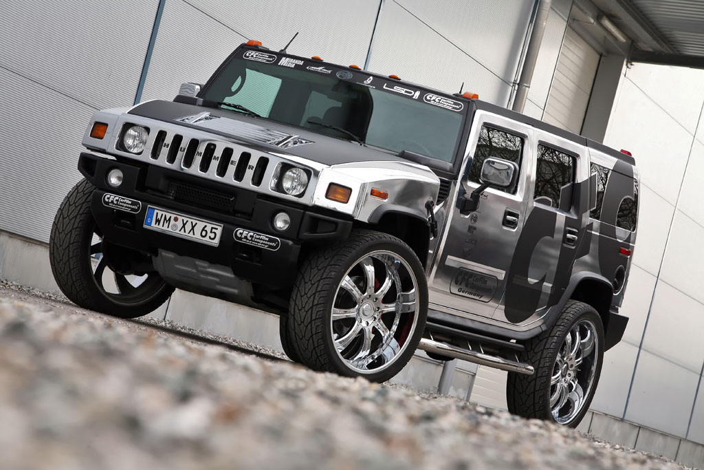 "Hummer H2 ""Blinged Out"" by CFC - autoevolution"