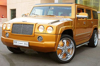Hummer H2 Killed Through Bentley Style Custom Treatment