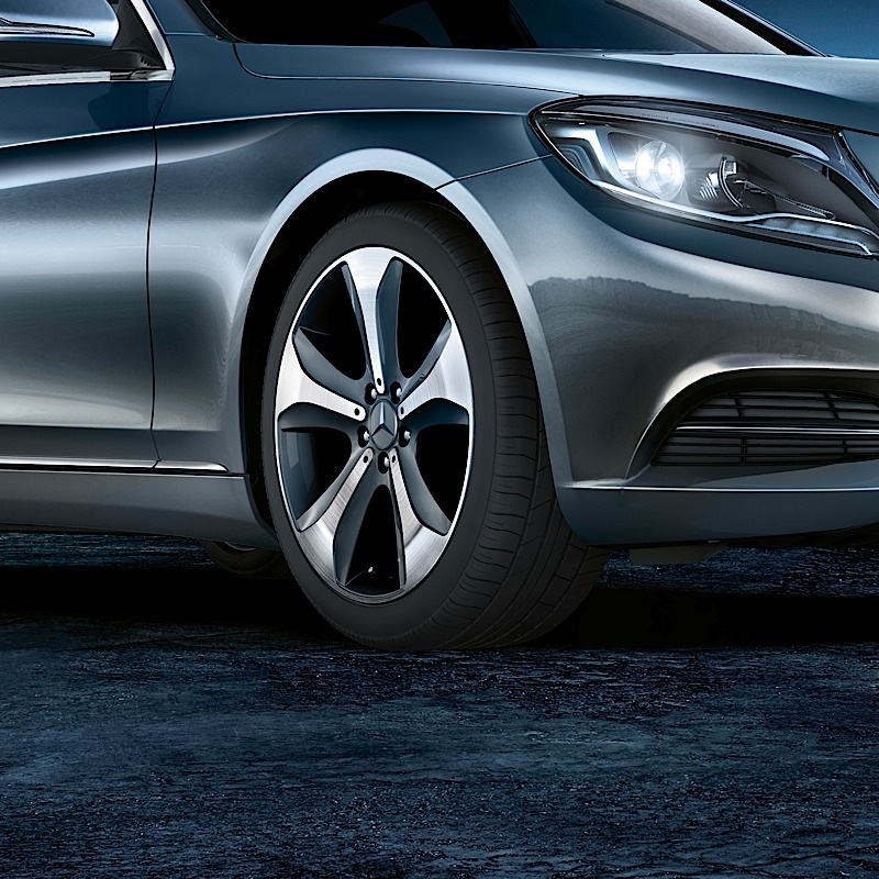 New s class gets humongous and odd range of accessories for Mercedes benz s class accessories
