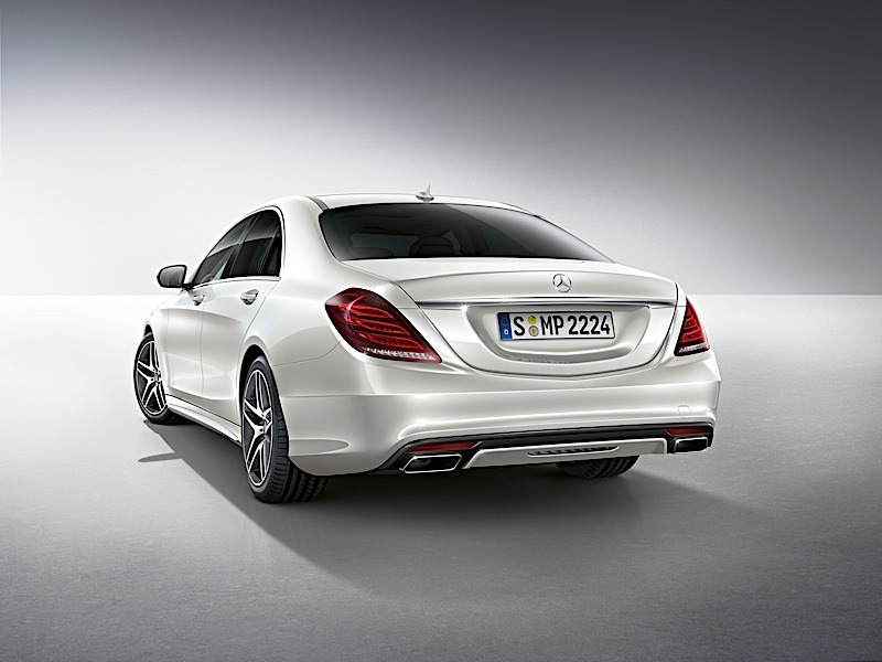 New s class gets humongous and odd range of accessories for Mercedes benz s550 accessories