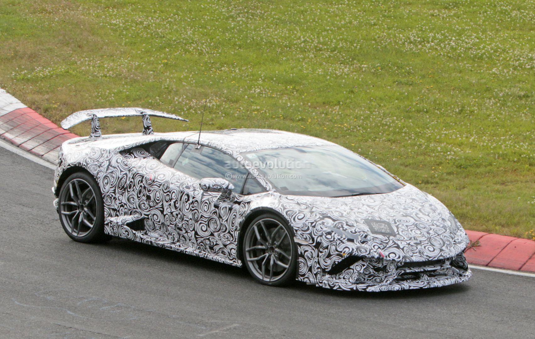Lamborghini Aventador Spyder >> Huracan Superleggera and Green Aventador Miura Homage Spied With Minimal Camo - autoevolution