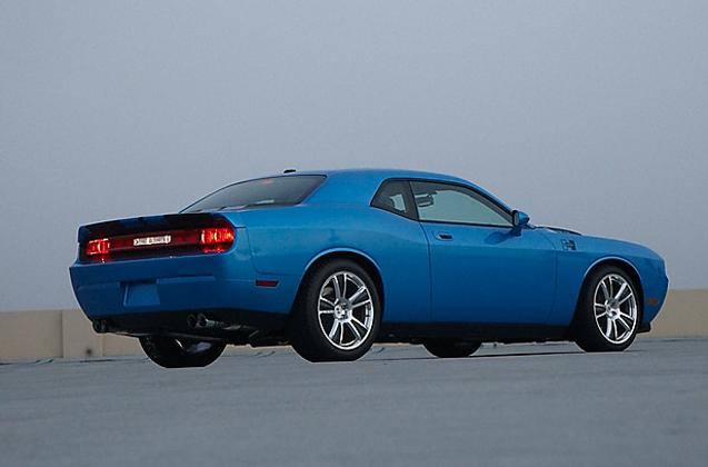 Hurst Competition Dodge Challenger Autoevolution