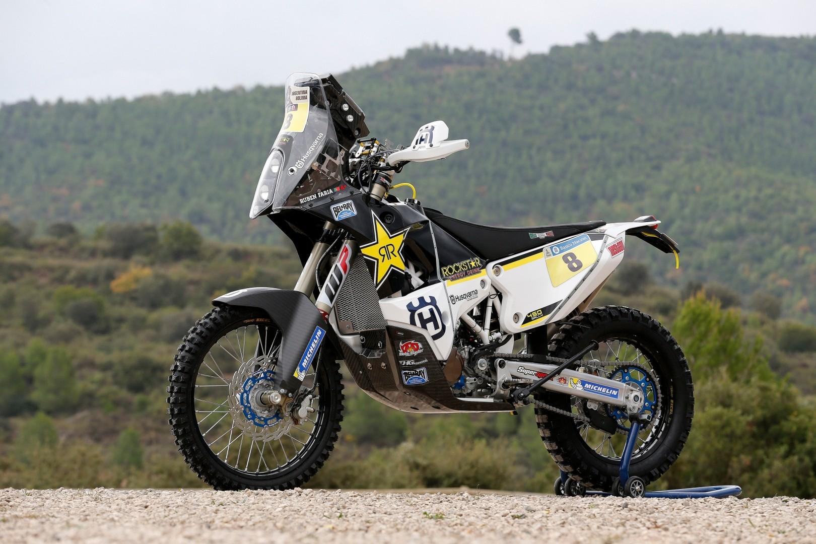 Husqvarna Introduces The Dakar Team And The Bikes