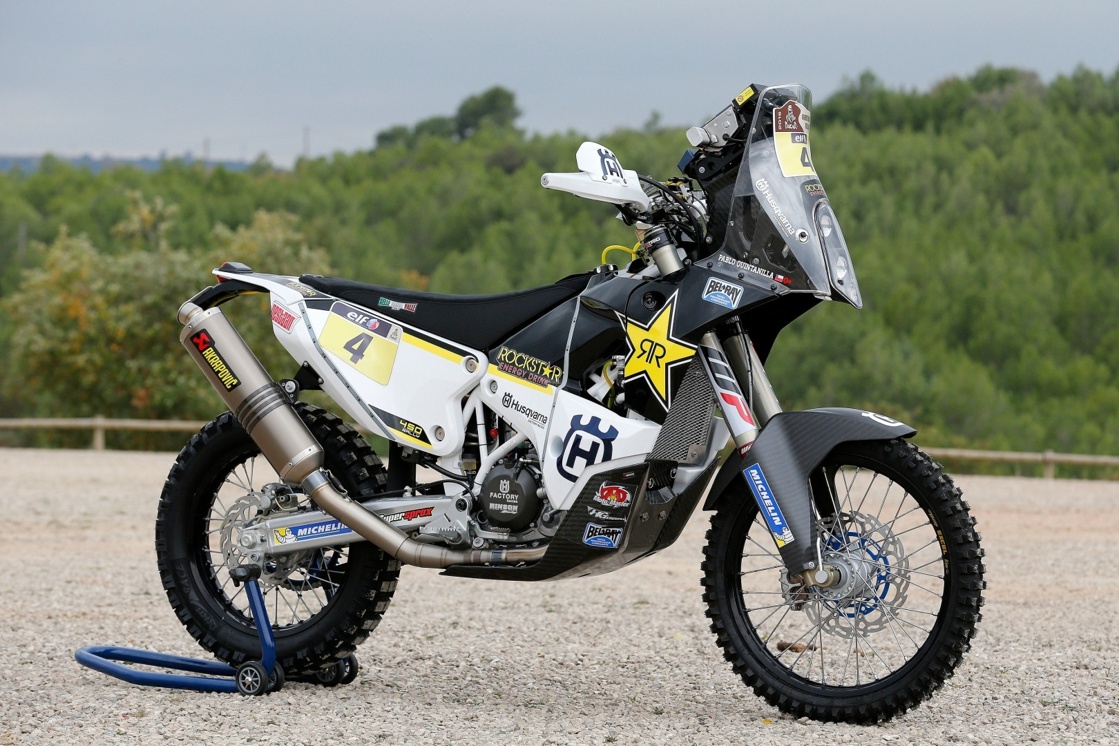 Husqvarna introduces the dakar team and the bikes autoevolution