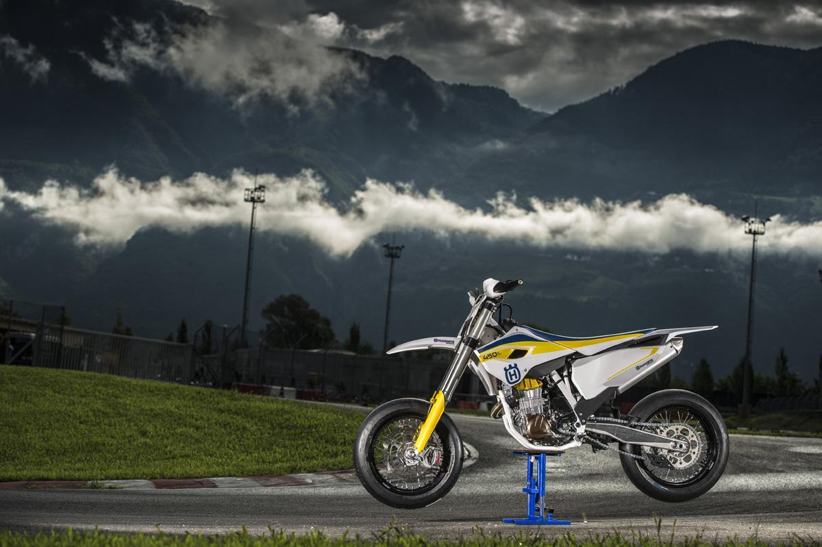 Husqvarna Makes Supermoto Comeback With The 2015 FS 450