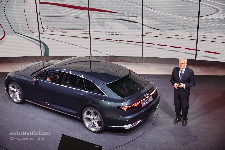 Hybrid Audi Prologue Avant Concept Electrifies the Geneva ...
