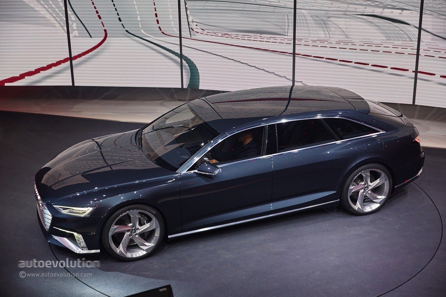 Hybrid Audi Prologue Avant Concept Electrifies the Geneva ...
