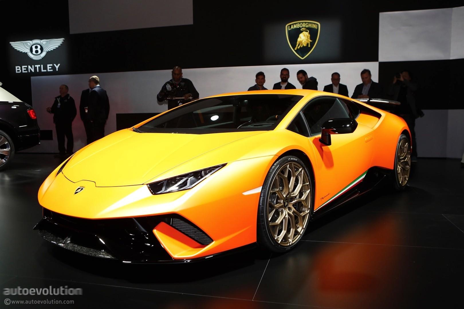 Hybridization Is Inevitable For Lamborghinis Huracan Successor  autoevolution