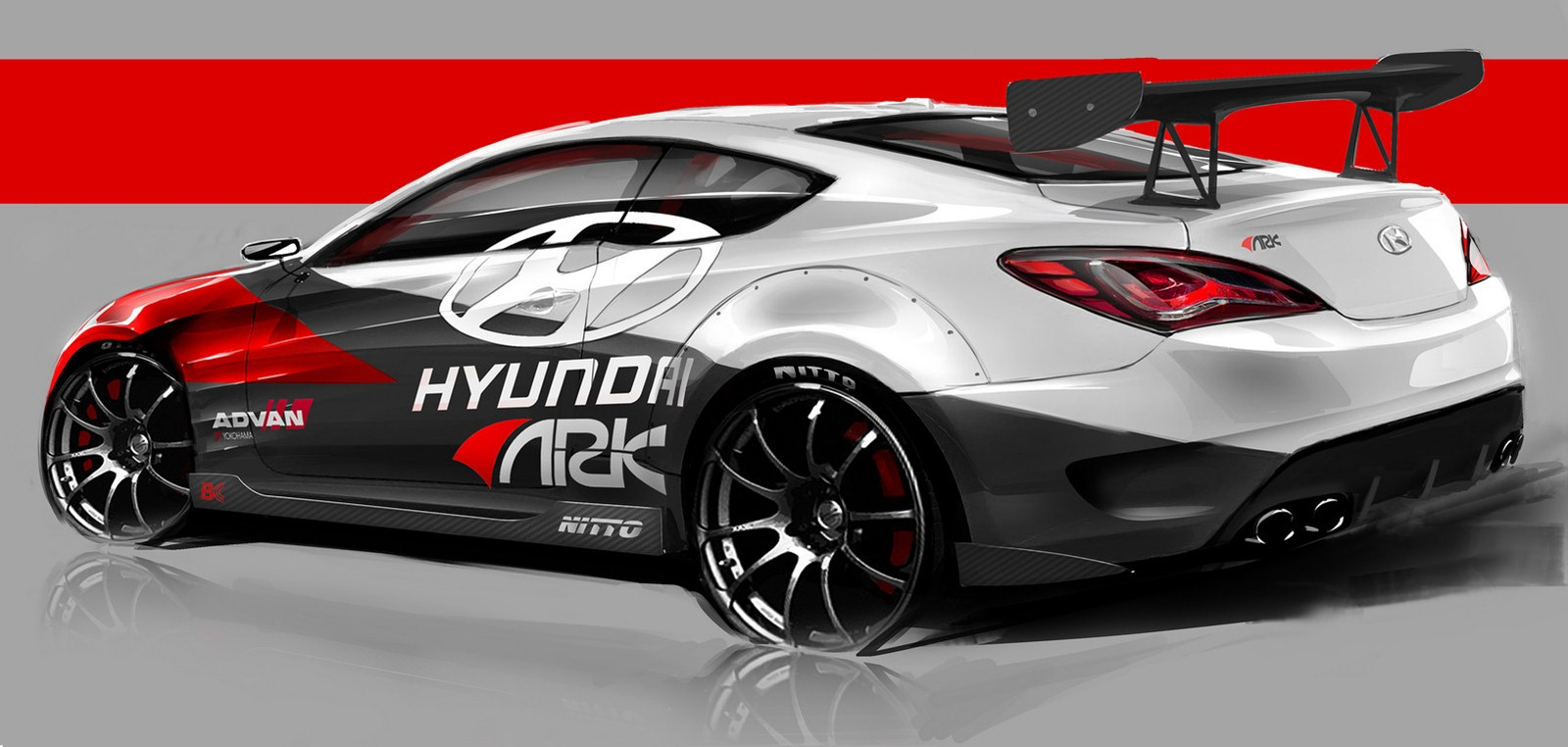 Hyundai And Ark Performance Announce Awesome Genesis Coupe