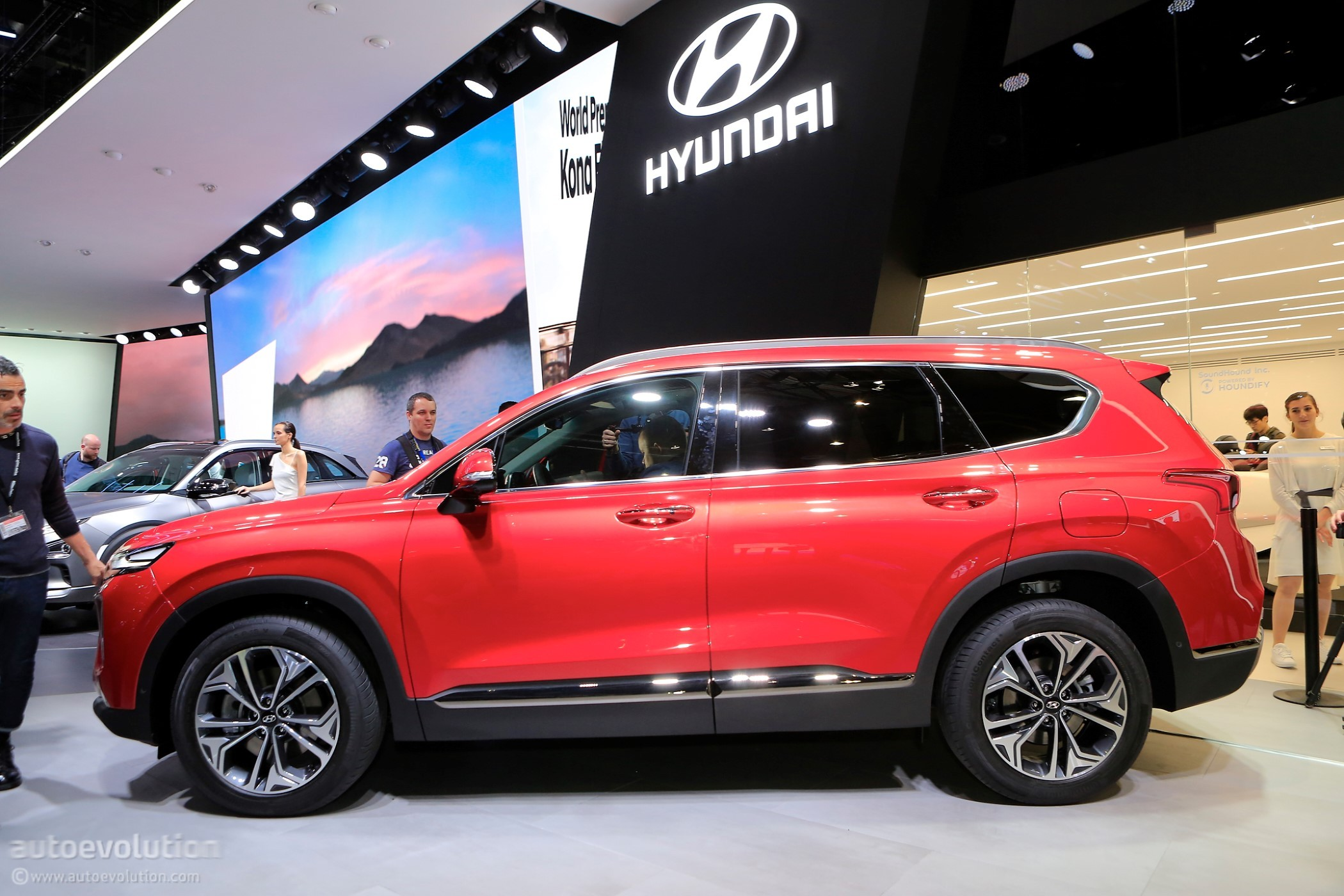 Car Engines For Sale >> Hyundai Bringing New Santa Fe, Tucson Facelift and Kona EV to New York - autoevolution
