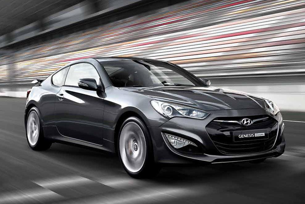 Hyundai Drops More 2013 Genesis Coupe Photos Autoevolution