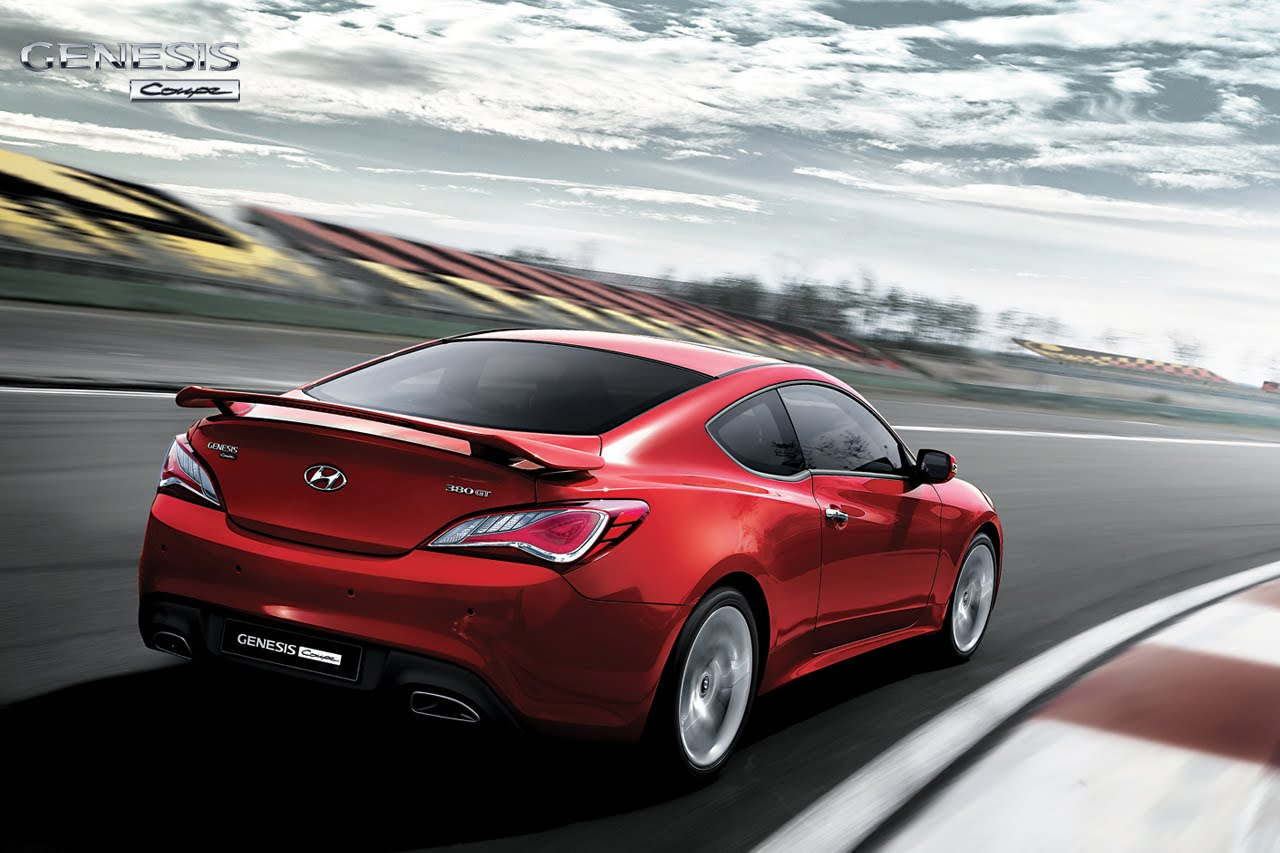 Hyundai Drops More 2013 Genesis Coupe Photos Autoevolution
