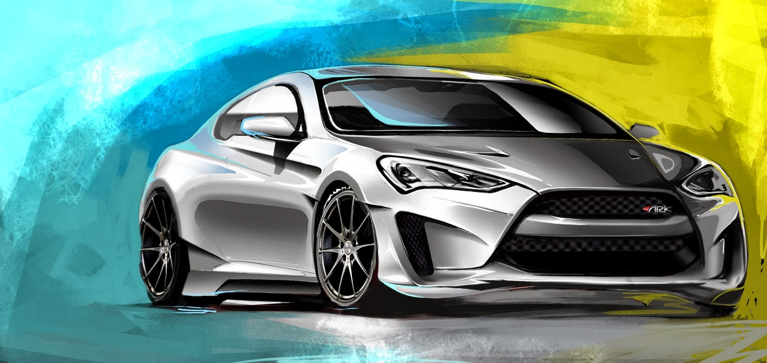 hyundai genesis coupe legato concept announced for sema. Black Bedroom Furniture Sets. Home Design Ideas