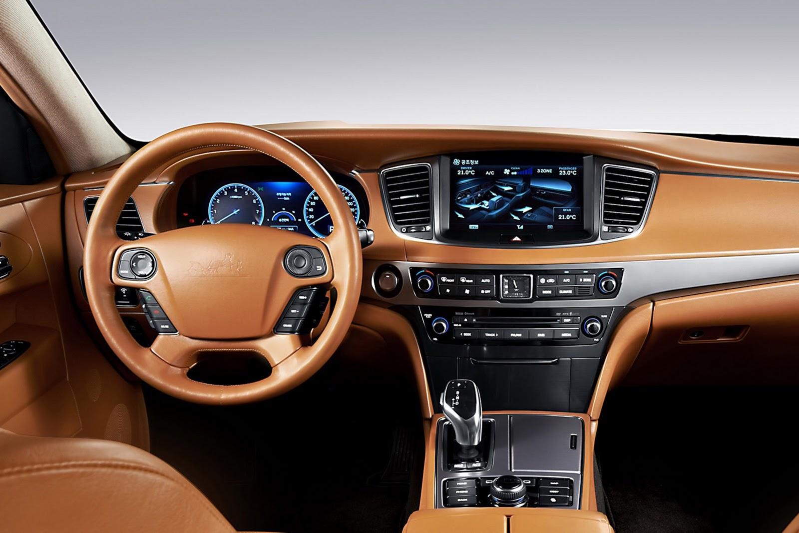 Hyundai Gets Classy with Equus Stretch Limo - autoevolution
