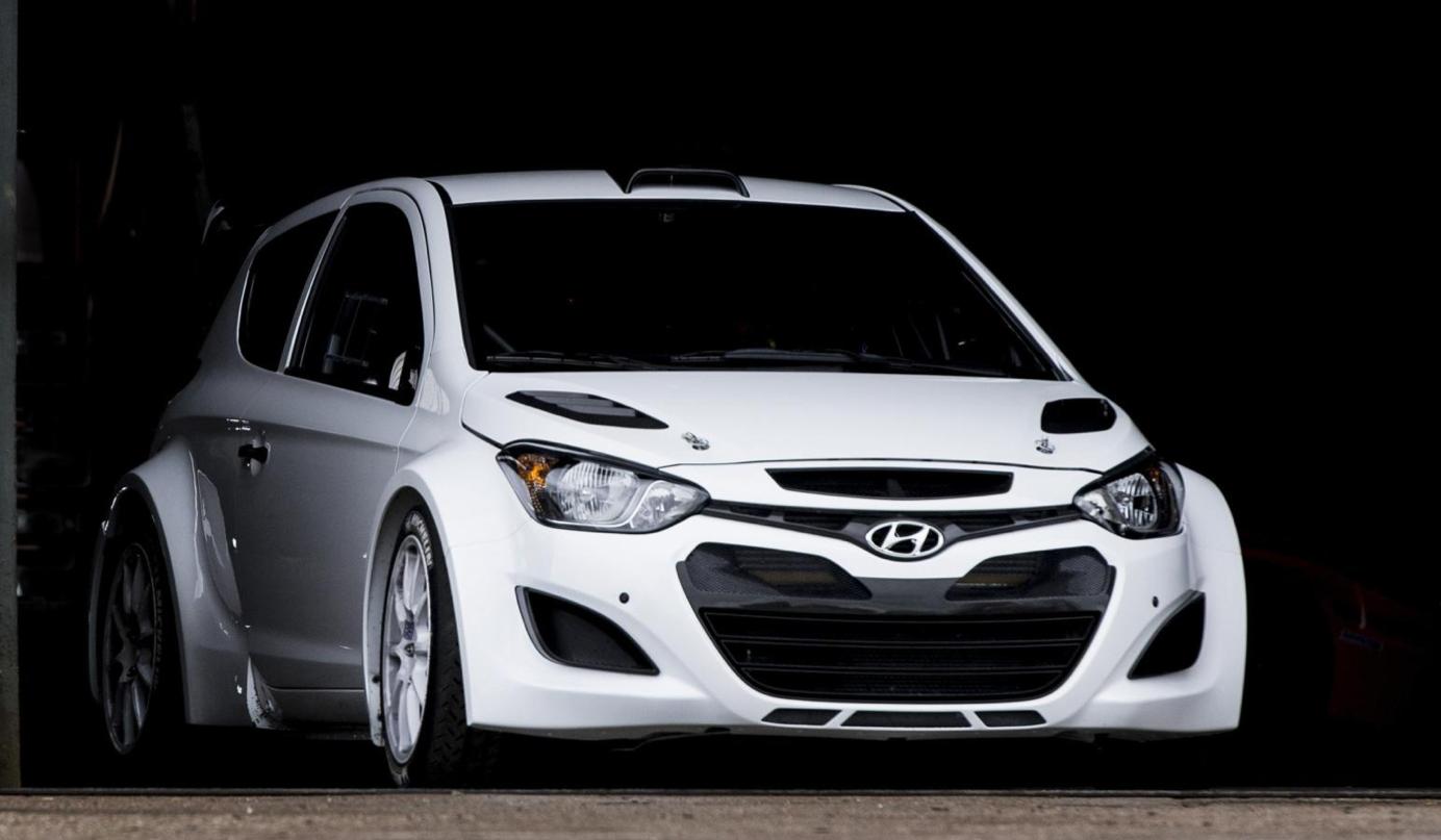 Accent Car Modified >> Hyundai i20 WRC Starts Testing for 2014 - autoevolution