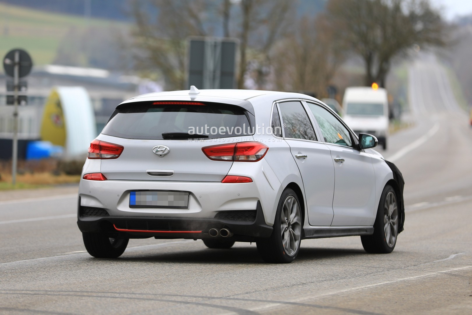 Spyshots Hyundai I30 N Sport Is Out For Golf R Line Blood