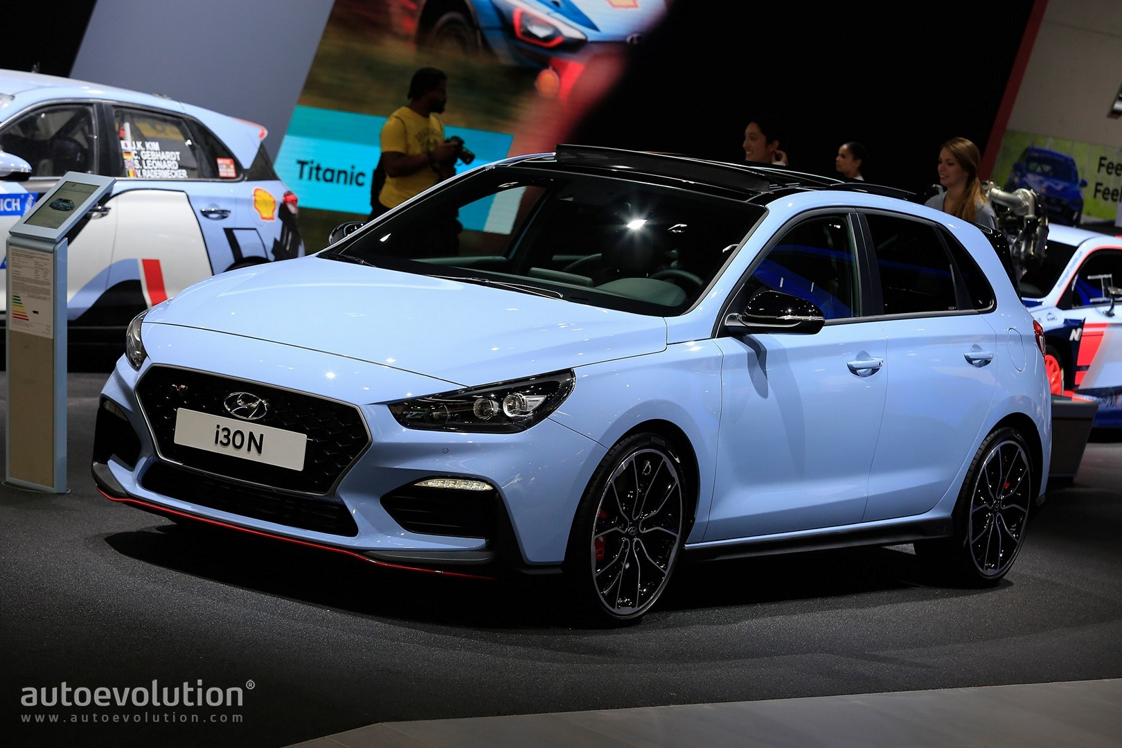 hyundai i30 n uk pricing announced a 24 995 bargain autoevolution. Black Bedroom Furniture Sets. Home Design Ideas