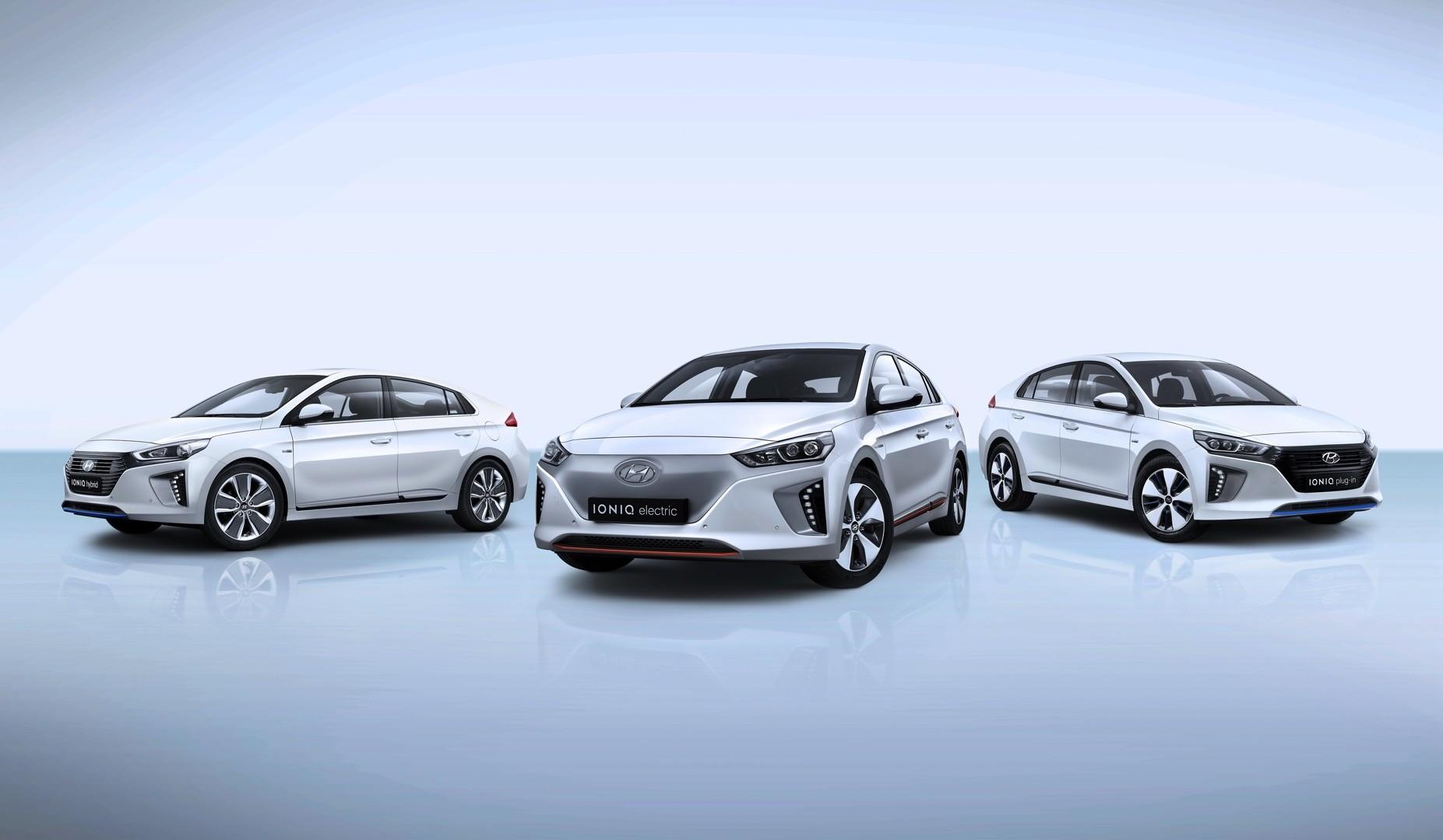 2017 Hyundai Ioniq Lineup
