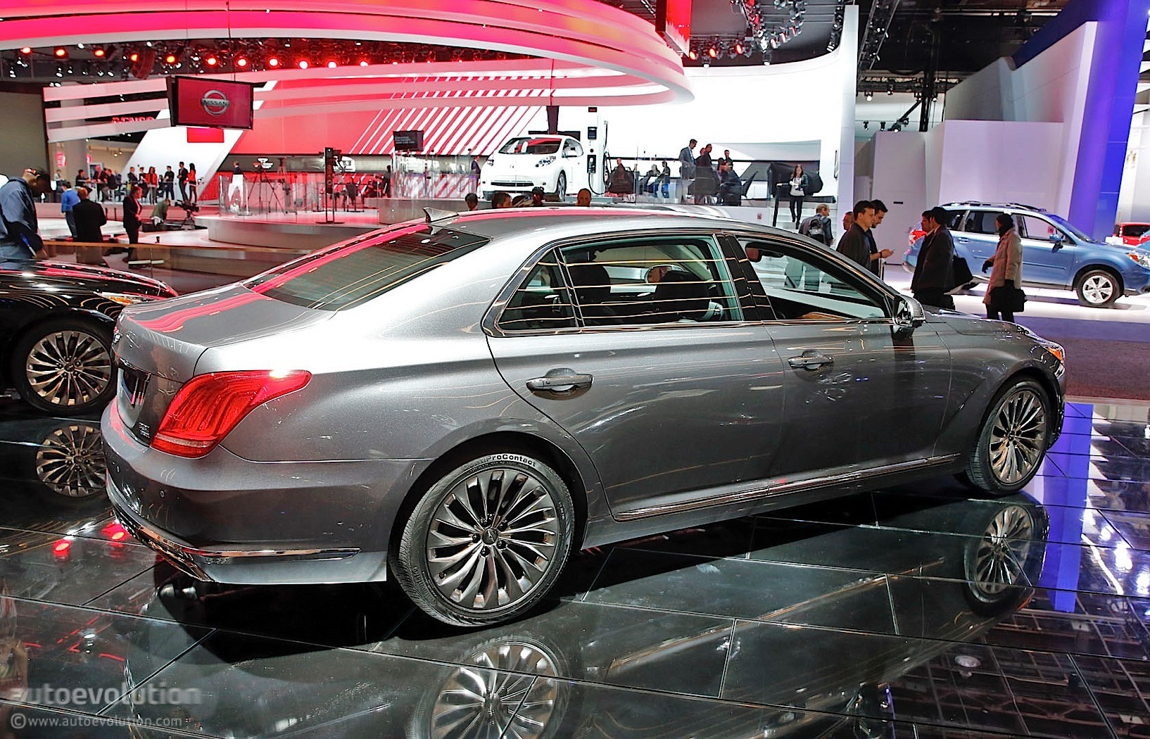 Genesis brings g90 luxury sedan at the 2016 detroit auto - Auto motor show ...