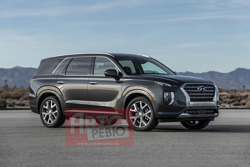 2020 Hyundai Palisade Looks Larger Than Life In Leaked
