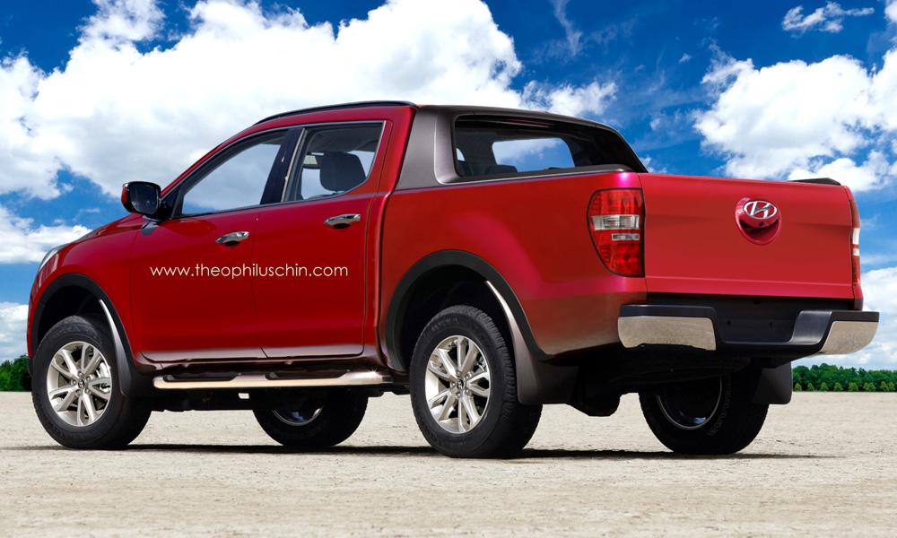 Photos Of Hyundai Pickup Trucks