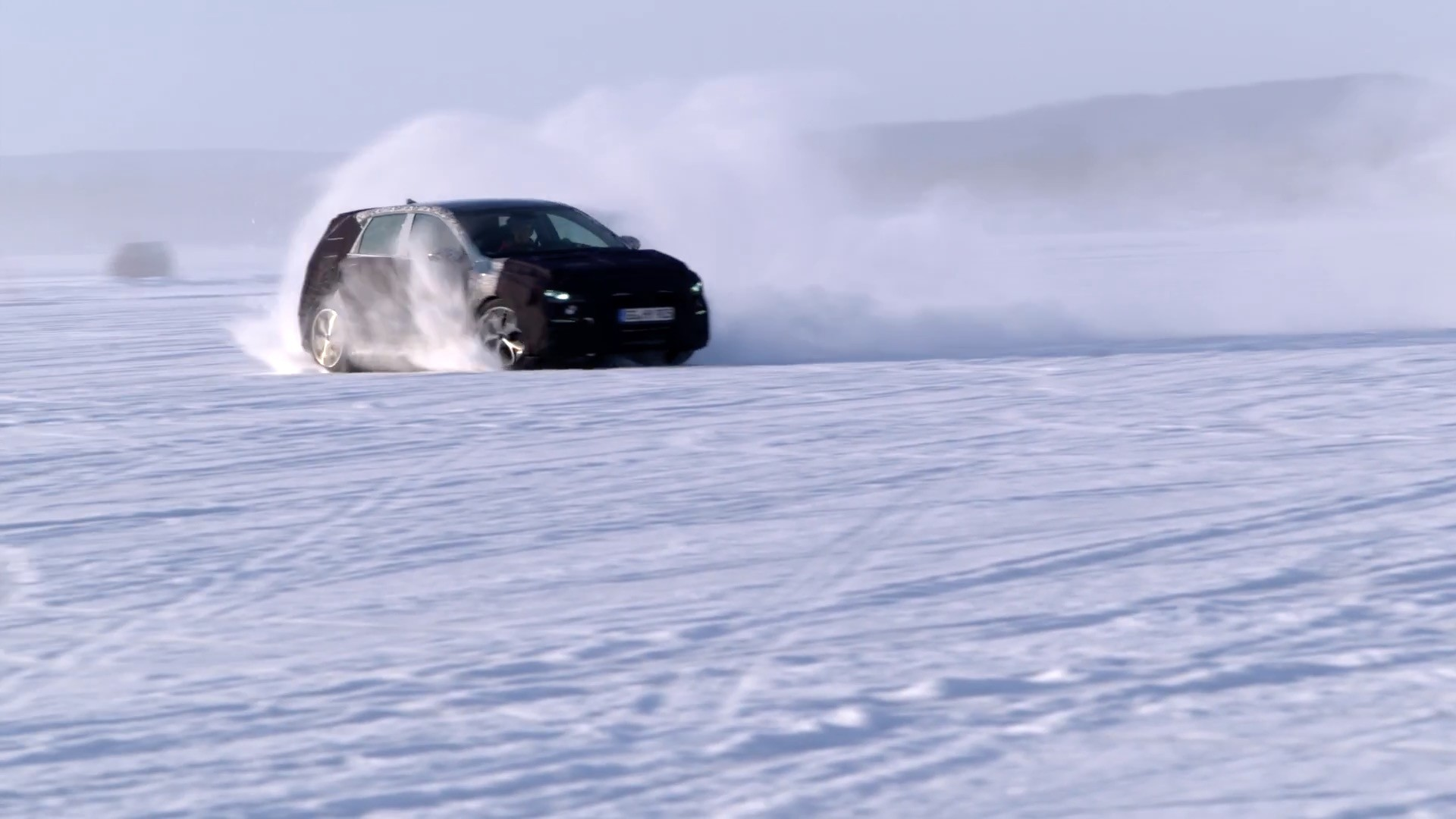 Hyundai puts the i30 n hot hatchback to the test in arctic weather