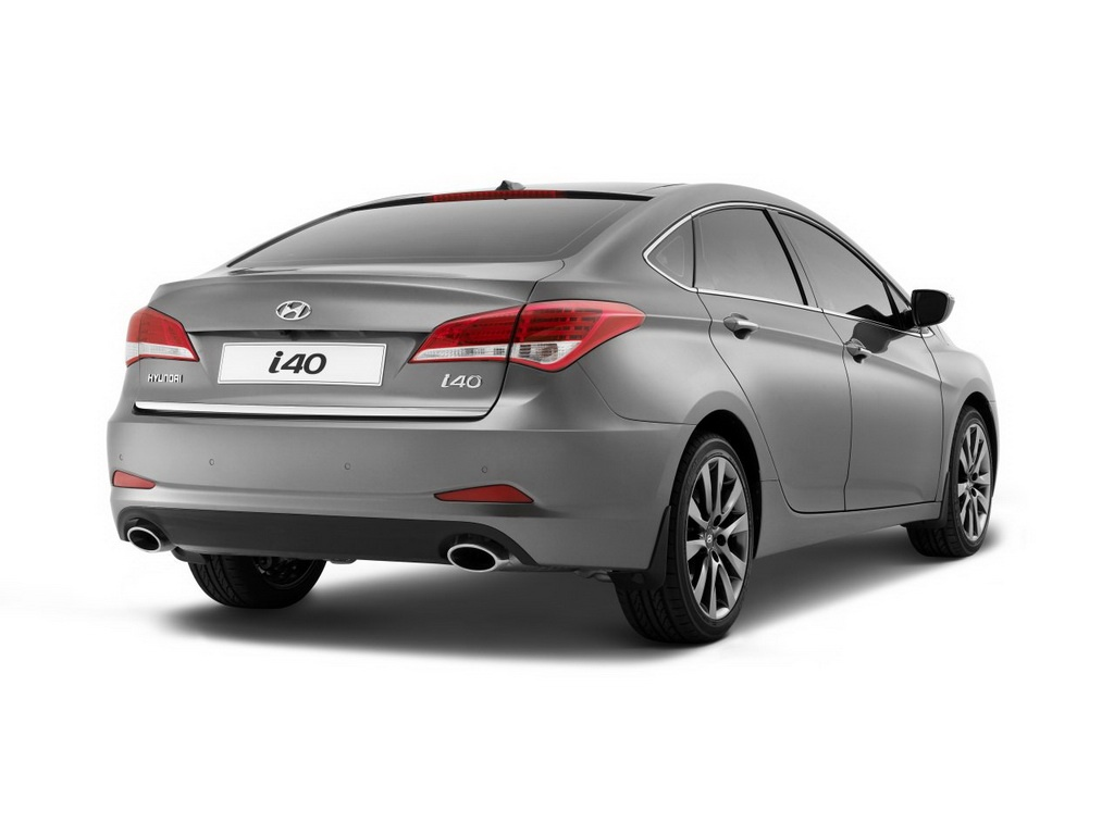 Hyundai Reveals I40 Sedan In Barcelona Autoevolution