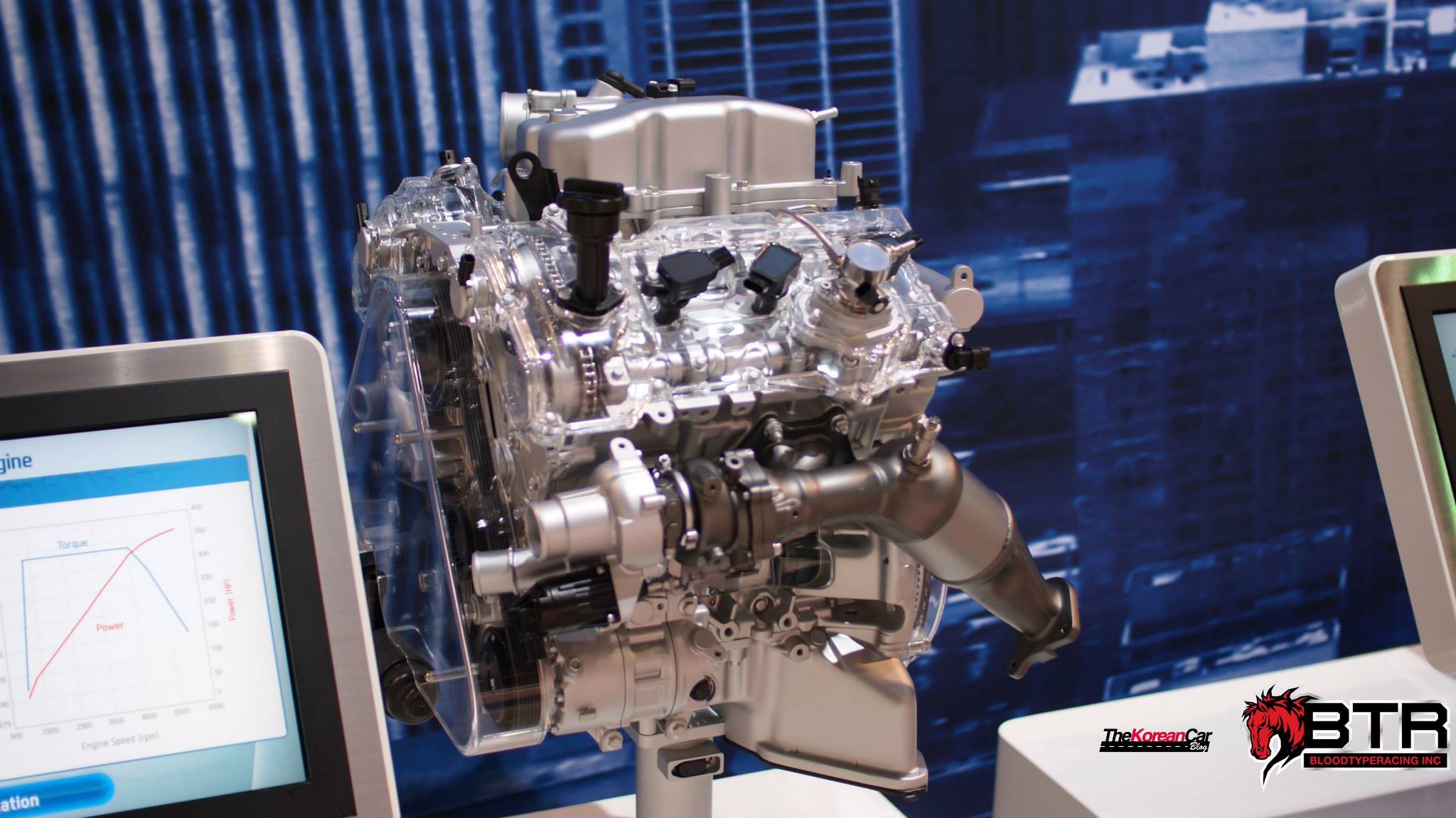 hyundais 33 twinturbo gdi v6 detailed for the first