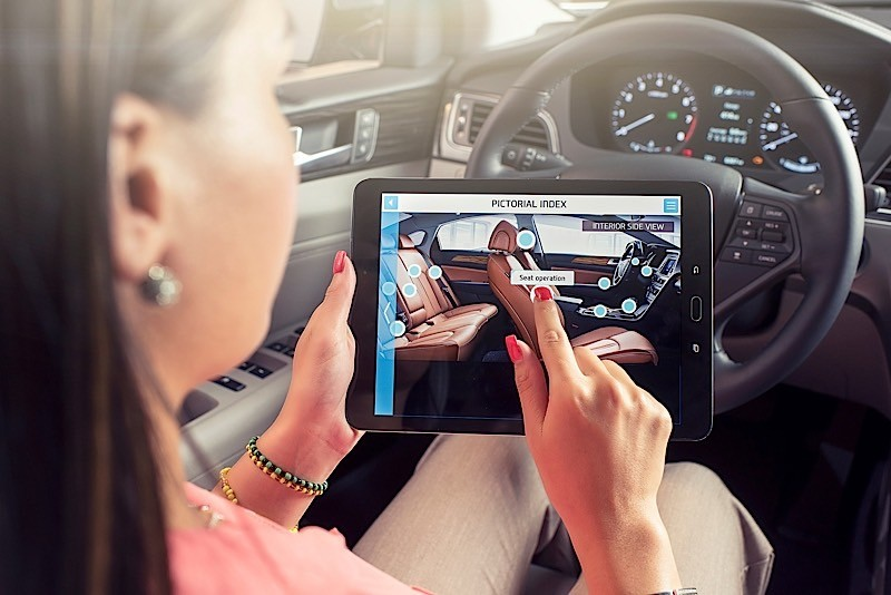 Elegant Hyundai To Introduce Augmented Reality To Owners Manual