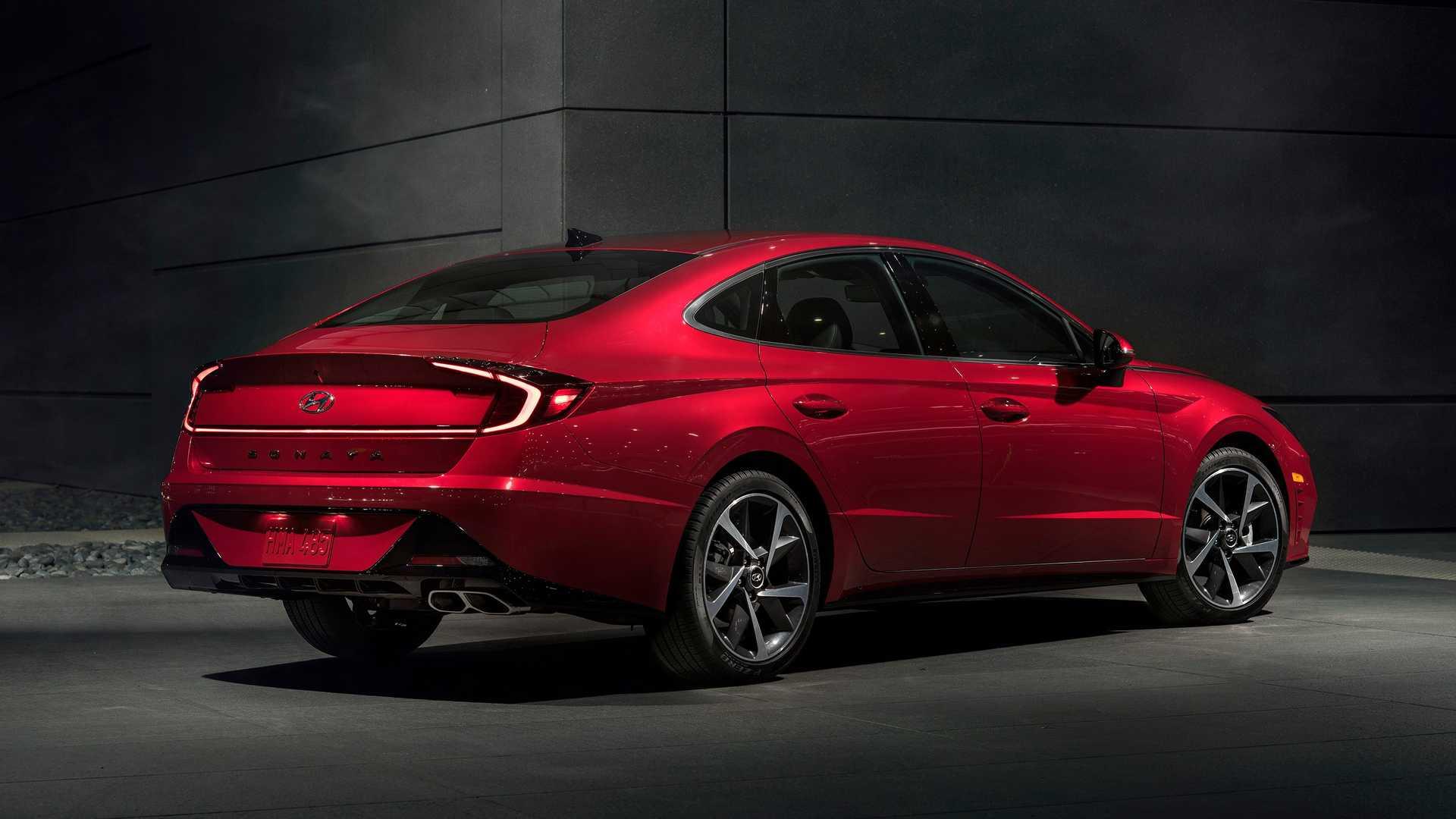 2020 Hyundai Sonata Makes U.S. Debut At New York Auto Show ...