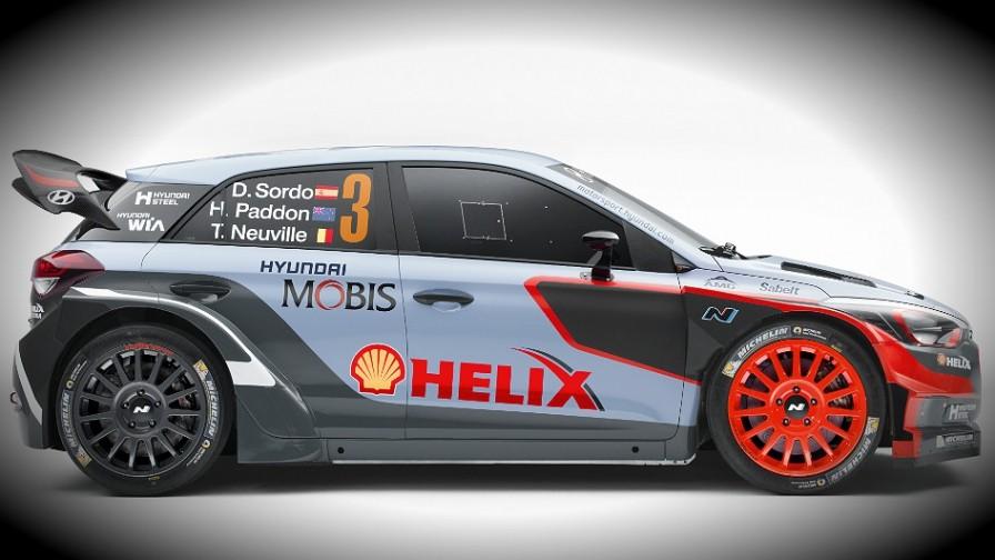 Hyundai Unveils New I20 Wrc Car For 2016 Season