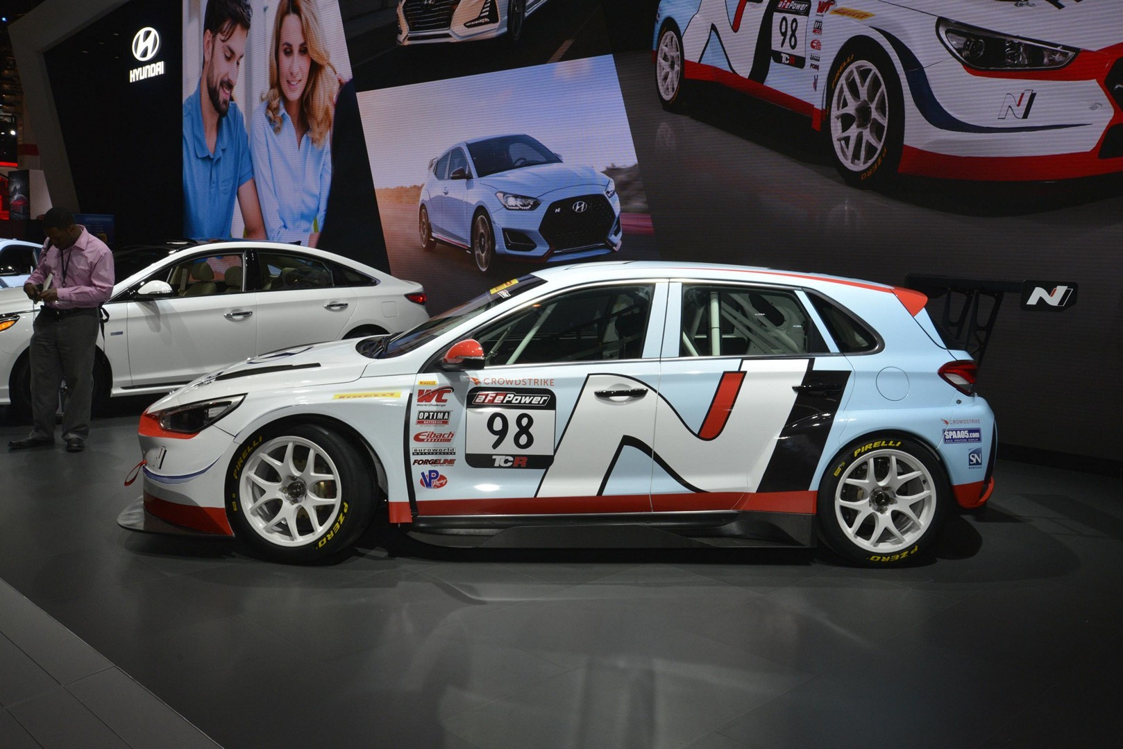 Hyundai Veloster N and i30 N TCR Show Up in Chicago ...